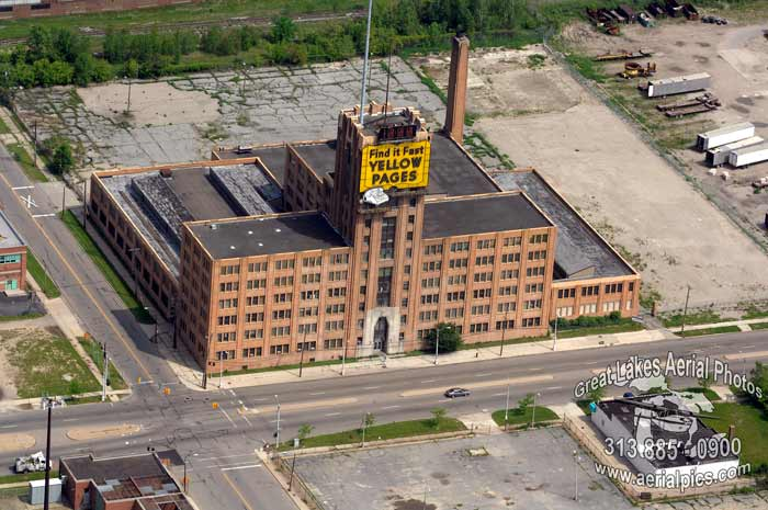 Aerial Photography By Don Coles Skyline Detroit Michigan