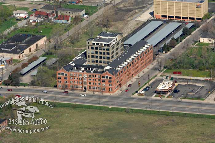 Aerial Photography by Don Coles, Skyline Detroit, Michigan